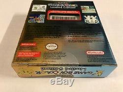 Neuf Nintendo Game Boy Color Pokemon Scellé Rare (1)