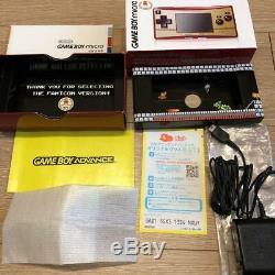 Nintendo 20th Anniversary Edition Famicom Game Boy Color Micro Set Du Japon