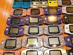 Nintendo Console Officiel Gameboy Advance Couleur 40 Lots Mis Jp