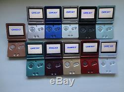 Nintendo Game Boy Advance Gba Sp Ags 101 Système Brighter Mint Nouveau Choisir Une Couleur