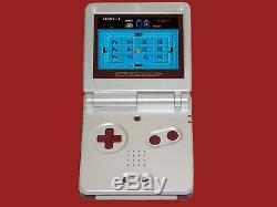 Nintendo Game Boy Advance Gba Sp Famicom Limité Système Ags 101 Mint Brighter