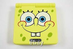 Nintendo Game Boy Advance Gba Sp Spongebob Yellow System Ags 101 Brighter New