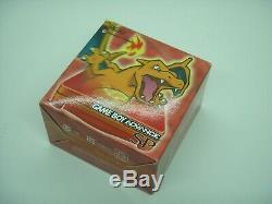 Nintendo Game Boy Advance Sp Console Pokemon Centre Charizard Couleur Limitée