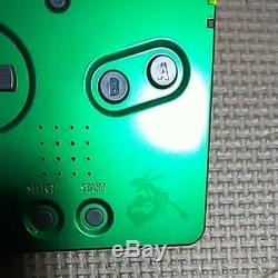 Nintendo Game Boy Advance Sp Console Rayquaza Pokemon Centre Limited Couleur W Box