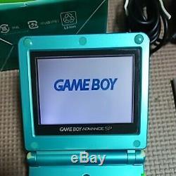 Nintendo Game Boy Advance Sp Console Venusaur Limitée Couleur Pokemon Centre