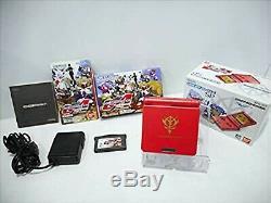 Nintendo Game Boy Advance Sp Gundam Char Couleur Limitée Console Édition Utilisé