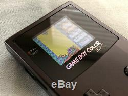 Nintendo Game Boy Color Boîtier Métallique, Ecran Rétro-éclairé, Usb Rechargeable