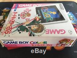 Nintendo Game Boy Color Cardcaptor Édition Limitée Sakura New Cib