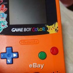 Nintendo Game Boy Color Centre Pokemon 3 Ans Trois Ans Rare Mint Japan