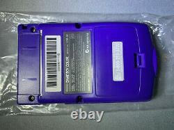 Nintendo Game Boy Color Console Grape Open Box