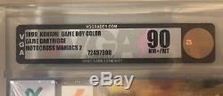 Nintendo Game Boy Color Gbc Motocross Maniacs 2 Vga 90 Niveau Or Graal Rare