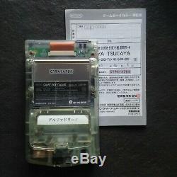 Nintendo Game Boy Color Gbc Neotones Ice Jap Trasparente Con Scatola E Manuale