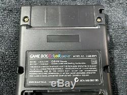 Nintendo Game Boy Color Lumière Noire / Or Bennvenn Freckleshack