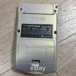 Nintendo Game Boy Color Or Et L'argent De Poche Monstre Pokemon Memorial Version