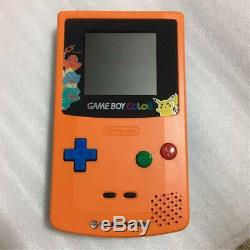 Nintendo Game Boy Color Pokemon 3e Anniversaire Limitée Modèle Nouveau