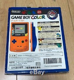 Nintendo Game Boy Color Pokemon 3ème Anniversaire Édition Limitée Japan F / S