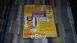 Nintendo Game Boy Color Pokémon Pikachu Jaune Édition Brand New Sealed Unopened