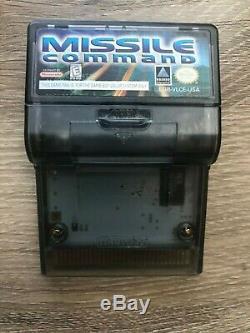Nintendo Game Boy Color Purple Bundle Avec 7 Jeux (pokemon, Tecmo Bowl, Missile)