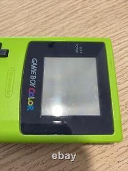 Nintendo Game Boy Color Système Portable Kiwi En Boite