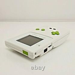 Nintendo Game Boy Color (gbc) Console White Custom Re-shell - LCD Backlight Mod