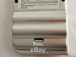 Nintendo Game Boy Console Couleur Silver Light Mgb-101, Manuel, Set-b1115 Boxed