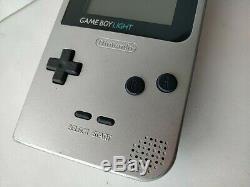 Nintendo Game Boy Console Couleur Silver Light Mgb-101, Manuel, Set-c0315 Boxed