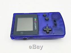 Nintendo Game Boy Couleur Bleu Minuit En Boîte Toy R Us Le Japon Import
