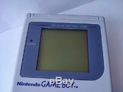 Nintendo Game Boy Couleur Gris Console (dmg-001), Manuel, Coffret Testé-b625