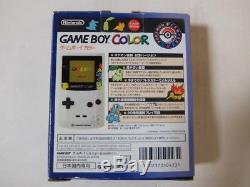 Nintendo Game Boy Couleur Pokemon Center Limited Avec 2 Jeux Rares