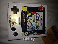 Nintendo Game Boy Couleur Pokemon Center Limited Edition Gold & Silver Ver Nouveau