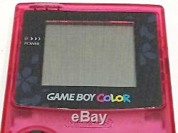 Nintendo Game Boy Couleur Sakura Taisen Limited Edition Japon Import