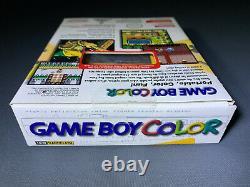 Nintendo Game Boy Couleur Tommy Hilfiger Nouvelle Usine Scellée Menthe