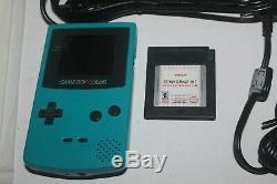 Nintendo Game Boy Couleur (singer Izek 1500 Machine À Coudre) Complète Dans Box