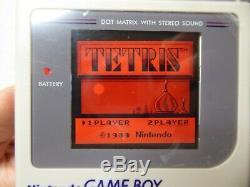 Nintendo Game Boy Dmg-01 Écran Ips LCD V2 8 Couleur De Rétroéclairage Nouveau Boîtier Refurb