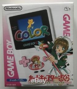 Nintendo Game Boy Game Boy Couleur Limitée Édition Spéciale Cardcaptor Sakura En Boîte