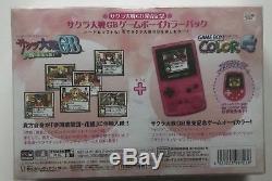 Nintendo Game Boy Game Boy Couleur Spéciale Boîte Limitée Sakura Taisen En Boîte Ovp