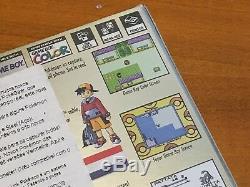 Nintendo Game Boy / Game Boy Jeu Pokemon Couleur Or Version Nos Cib