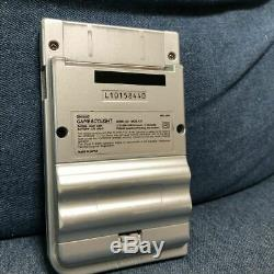 Nintendo Game Boy Lumière De Couleur Argent Japon Console Only No Box Jeu Vidéo