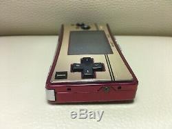 Nintendo Game Boy Micro Nes Limitée Famicon Couleur Japonais Japan F / S