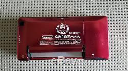 Nintendo Game Boy Micro Spécial 20ème Anniversaire Edition Famicom Couleur
