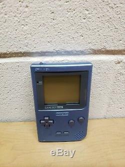 Nintendo Game Boy Pocket Edition Limitée Ice Blue Color Avec Boîte