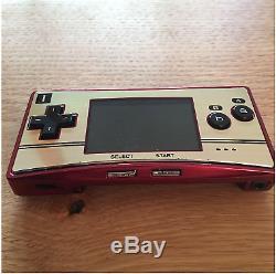 Nintendo Game Boy Système Advance Sp Micro Condole Famicom Color Limited Modèle Jp
