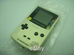 Nintendo Game Boy Système Couleur Pokemon Or Et Silver Edition Limitée