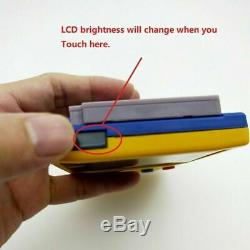 Nintendo Game Boy Système Gbc Couleur Backlight Brighter Mod Vert Clair