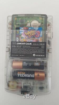 Nintendo Gameboy Color Backlight Clair Blanc Lentille D'écran