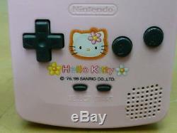Nintendo Gameboy Color Bonjour Kitty Special Edition Japon Console De Jeux