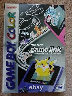 Nintendo Gameboy Color Câble Lien Pokemon Game Boy Color Nouveau Scellés