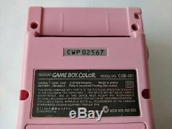 Nintendo Gameboy Color Card Captor Sakura Console Édition Limitée Testée-b418