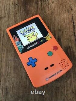Nintendo Gameboy Color Couleur Pokemon Anniversaire Console De Jeux Ips Gbc Backlit