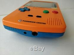 Nintendo Gameboy Color Edition Limitée Pokemon Console Couleur Orange, Boxed-b1120